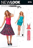 New Look 6174 Pattern ( Size 4-6-8-10-12-14-16 )