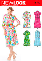 New Look 6180 Pattern ( Size 10-12-14-16-18-20-22 )