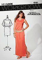 New Look 6181 Pattern ( Size 8-10-12-14-16-18 )