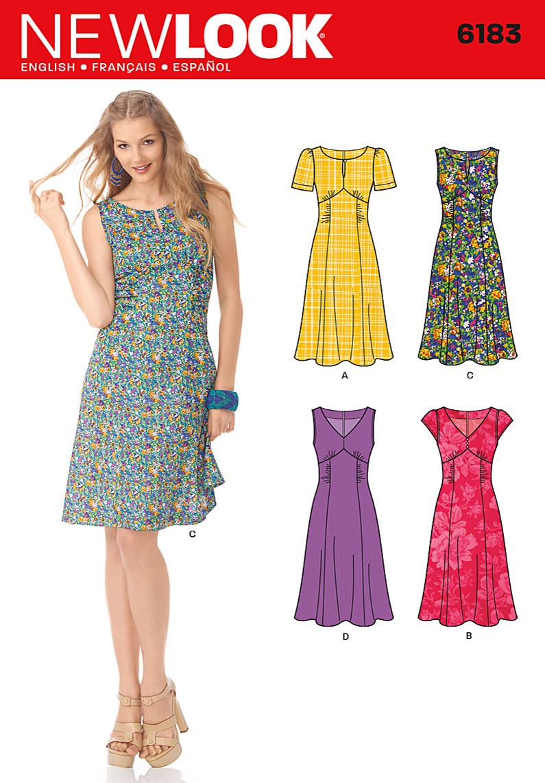 New Look Misses Dress 6183