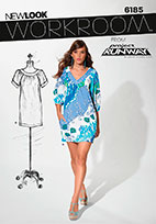 New Look 6185 Pattern ( Size 4-6-8-10-12-14-16 )