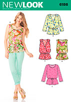 New Look 6186 Pattern ( Size 8-10-12-14-16-18 )