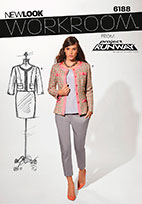 New Look 6188 Pattern ( Size 8-10-12-14-16-18 )