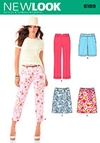 New Look 6189 Pattern ( Size 6-8-10-12-14-16 )