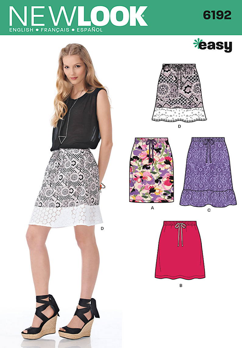 New Look Misses Skirt 6192