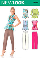New Look 6196 Pattern ( Size 8-10-12-14-16-18 )