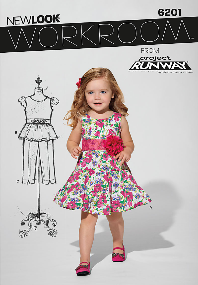 New Look Children's Dress 6201
