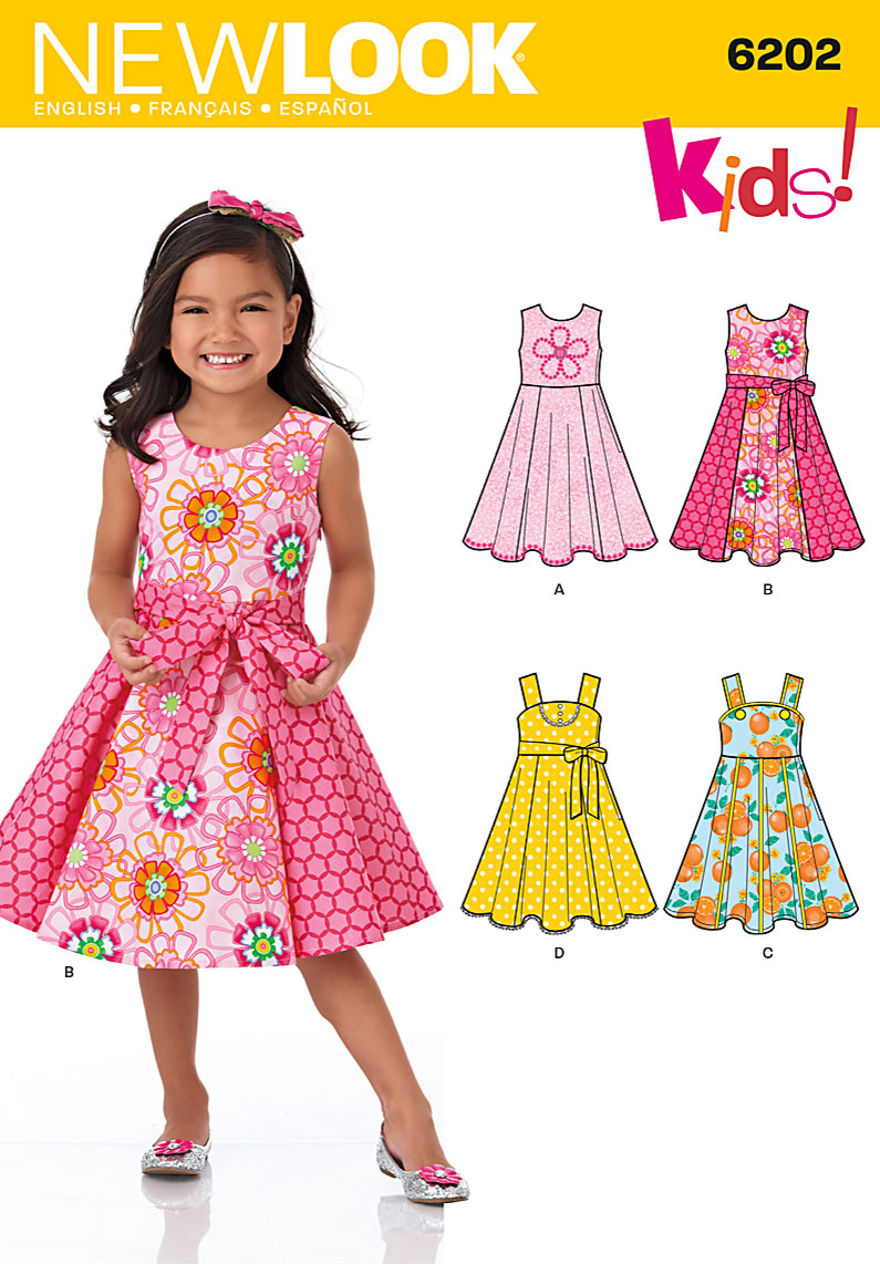 New Look Children's Dress 6202