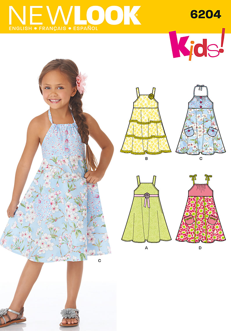 New Look Children's Dress 6204