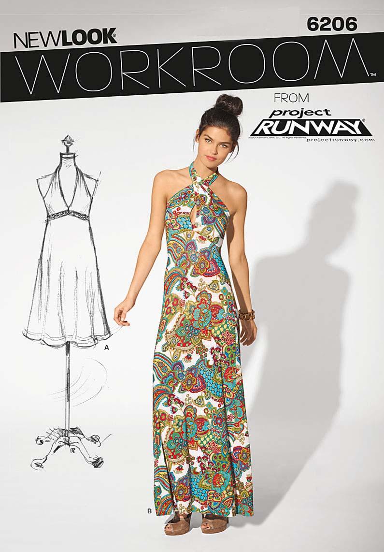 New Look Misses Dress 6206