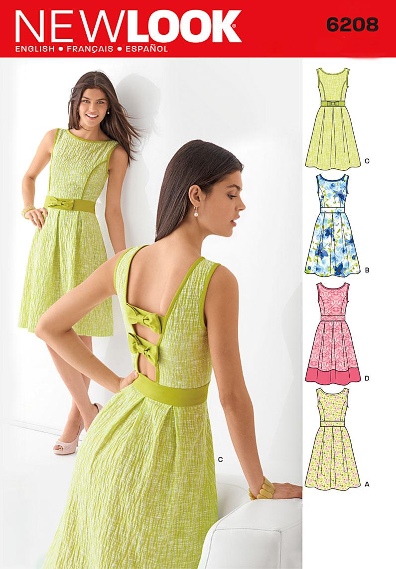 New Look Misses Dress 6208