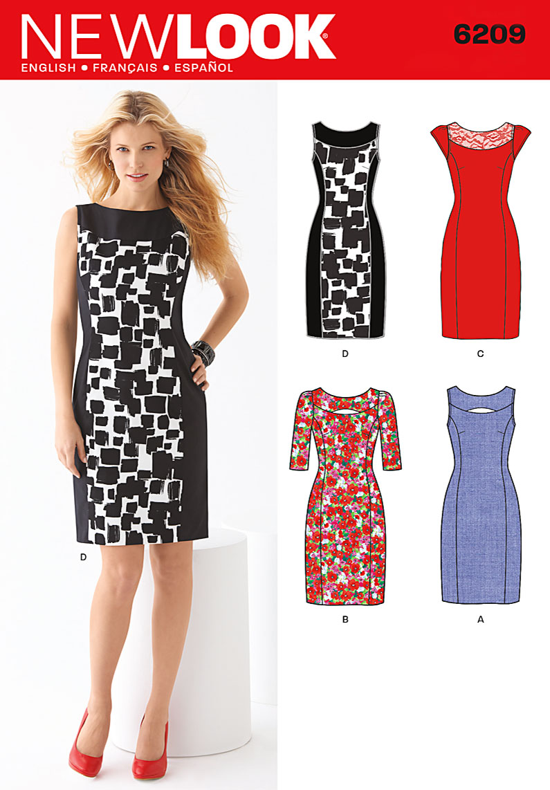 New Look Misses Dress 6209