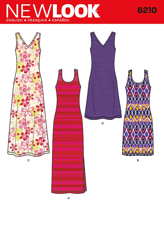 New Look Misses Dress 6210