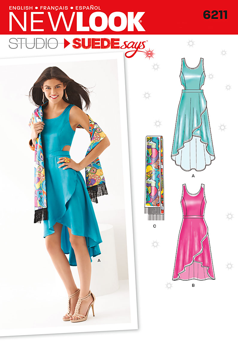 New Look Misses Dress 6211