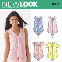 New Look 6213 Pattern ( Size 6-8-10-12-14-16 )