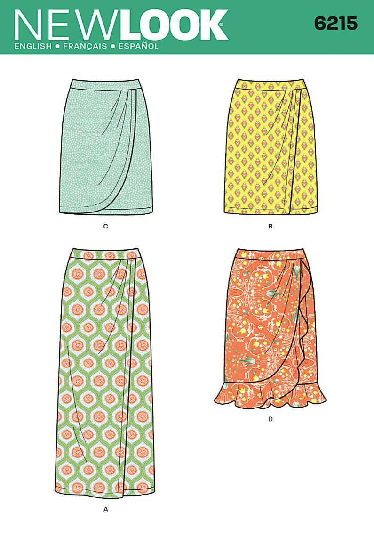 New Look Misses Skirt 6215