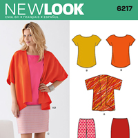 New Look 6217 Pattern ( Size 10-12-14-16-18-20-22 )