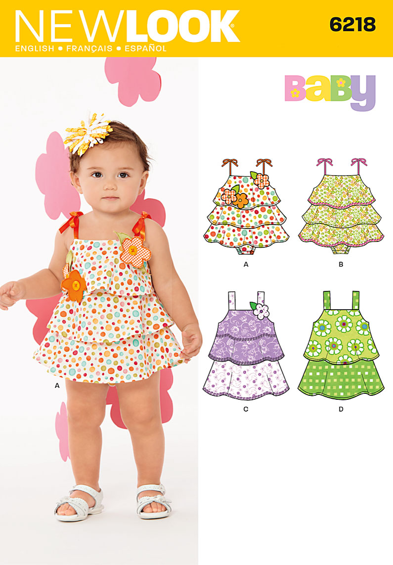New Look Babies' dress and sunsuit 6218