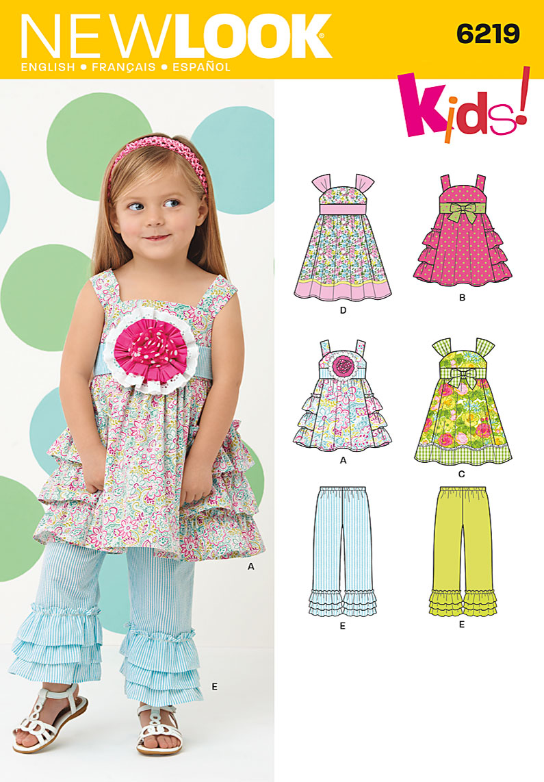 New Look Toddler's Dress 6219