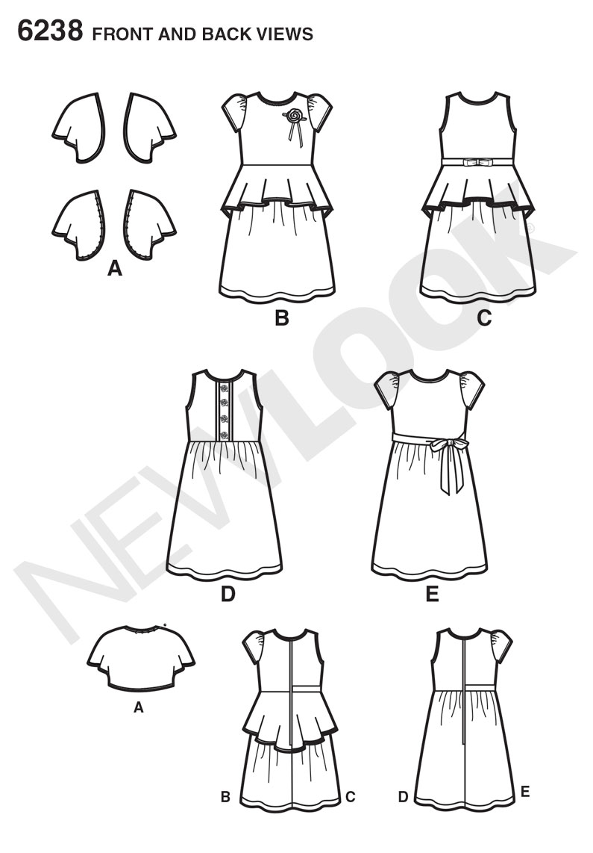 El juego de las imagenes-http://images.patternreview.com/sewing/patterns/newlook/2013/6238/6238line.jpg
