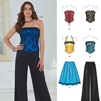 New Look 6242 Pattern ( Size 4-6-8-10-12-14-16 )