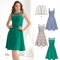 New Look 6243 Pattern ( Size 8-10-12-14-16-18 )