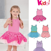 New Look 6255 Pattern ( Size 1/2-1-2-3-4 )