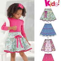 New Look 6258 Pattern ( Size 3-4-5-6-7-8-10-12 )