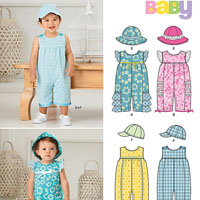 New Look 6274 Pattern ( Size NB-S-M-L )