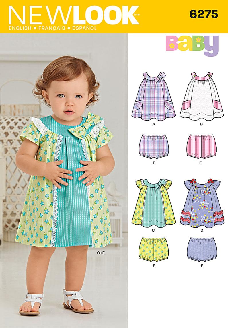 New Look Babies' Dress and Panties 6275