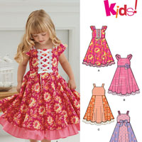 New Look 6278 Pattern ( Size 3-4-5-6-7-8 )
