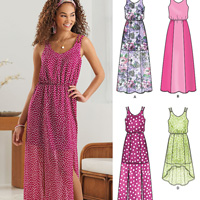New Look 6282 Pattern ( Size 4-6-8-10-12-14-16 )