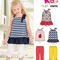 New Look 6295 Pattern ( Size 1/2-1-2-3-4 )