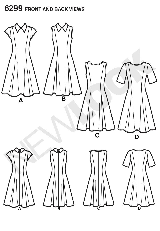 Простые выкройки летних платьев. . Есть выход - сшить самому! . Основу изготовления платья составляют выкройки