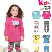 New Look 6332 Pattern ( Size 1/2-1-2-3-4 )