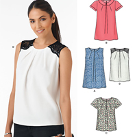New Look 6344 Pattern ( Size 8-10-12-14-16-18-20 )