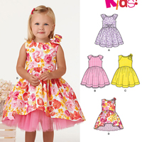 New Look 6355 Pattern ( Size 1/2-1-2-3-4 )