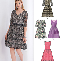 New Look 6370 Pattern ( Size 8-10-12-14-16-18 )