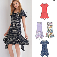 New Look 6371 Pattern ( Size 10-12-14-16-18-20-22 )
