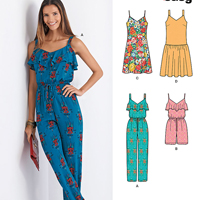 New Look 6373 Pattern ( Size 8-10-12-14-16-18-20 )