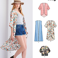 New Look 6378 Pattern ( Size XS-S-M-L-XL )
