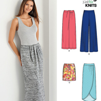New Look 6380 Pattern ( Size 6-8-10-12-14-16-18 )