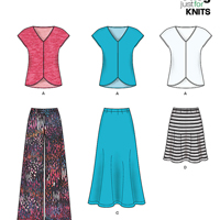 New Look 6384 Pattern ( Size XS-S-M-L-XL )
