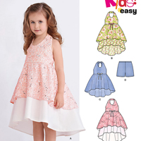 New Look 6387 Pattern ( Size 3-4-5-6-7-8 )