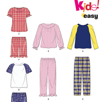 New Look 6406 Pattern ( Size 1/2-1-2-3-4-5-6-7-8 )