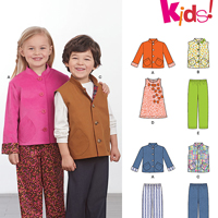 New Look 6408 Pattern ( Size 3-4-5-6-7-8 )
