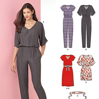 New Look 6413 Pattern ( Size 8-10-12-14-16-18-20 )