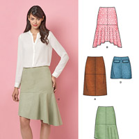 New Look 6418 Pattern ( Size 8-10-12-14-16-18-20 )