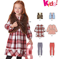 New Look 6424 Pattern ( Size 3-4-5-6-7-8 )