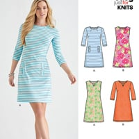 New Look 6428 Pattern ( Size 8-10-12-14-16-18-20 )